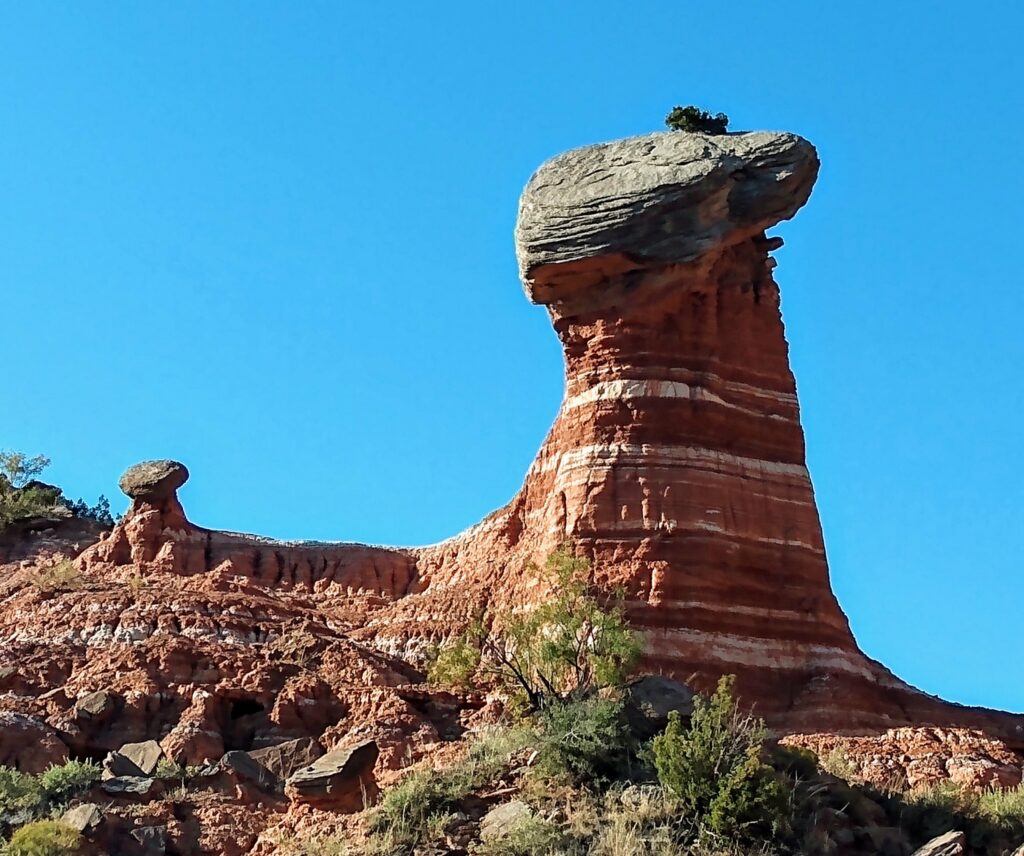 A Tilted Mexican Hat at Palo Duro